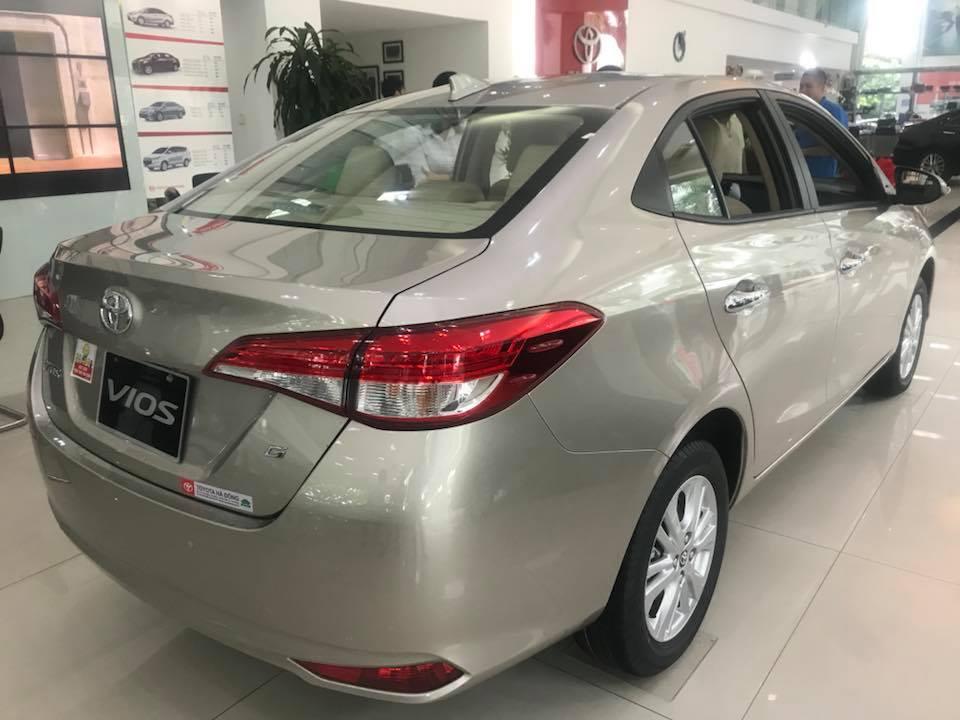 Toyota Vios 1.5G New 2021 giá cạnh tranh, giao xe ngay, hỗ trợ mọi thủ tục, LH: 0988859418