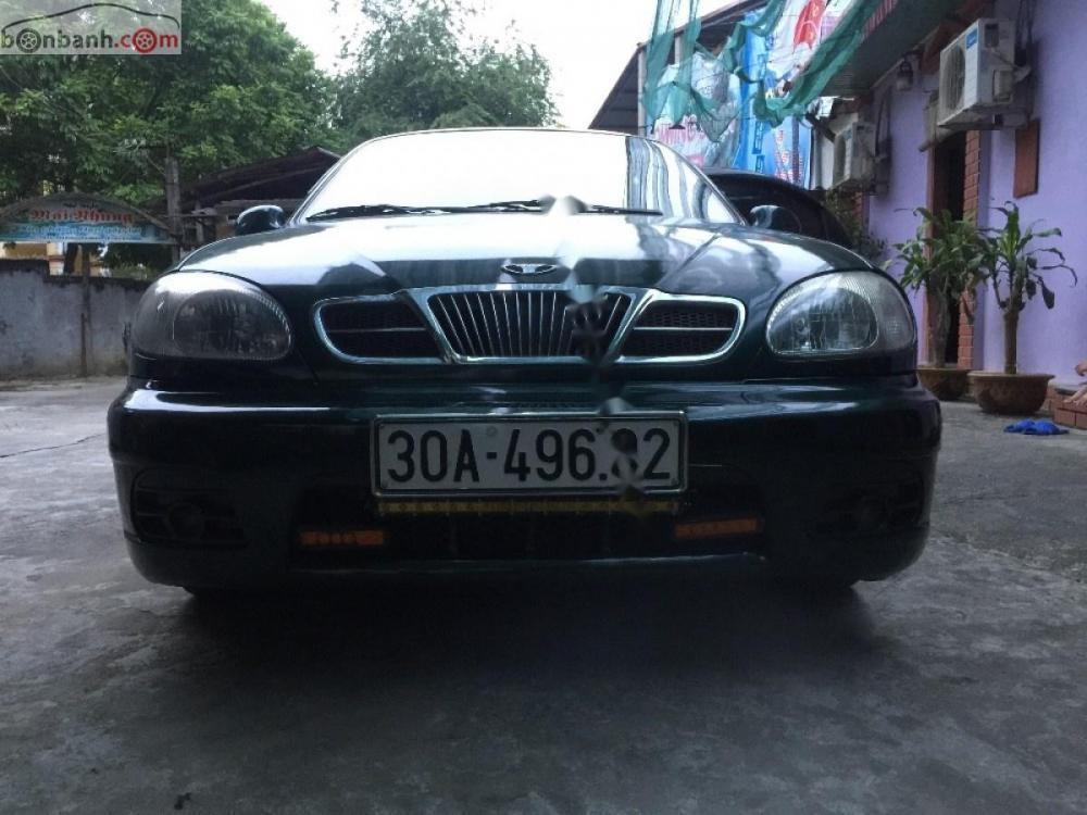Bán xe Daewoo Lanos 1.5 MT năm 2003, màu xanh lam