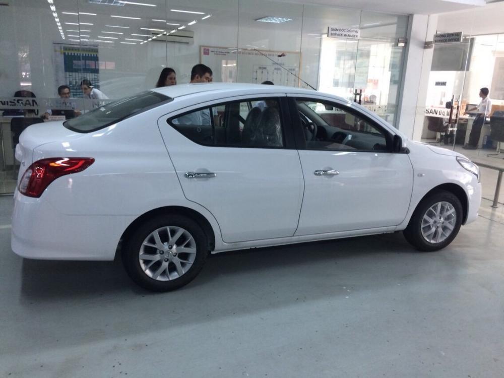 Cần bán Nissan Sunny XL - Q năm 2018, màu trắng. Khuyến mãi lớn lên đến 25 Triệu đồng