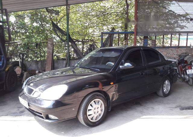 Bán Daewoo Nubira năm sản xuất 2003, màu đen, giá tốt