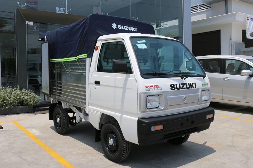 Bán xe Suzuki Carry đời 2018, màu trắng, giá 249tr