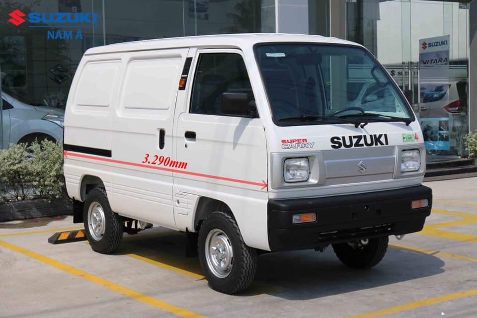 Bán xe Suzuki Supper Carry Van 2020, màu trắng