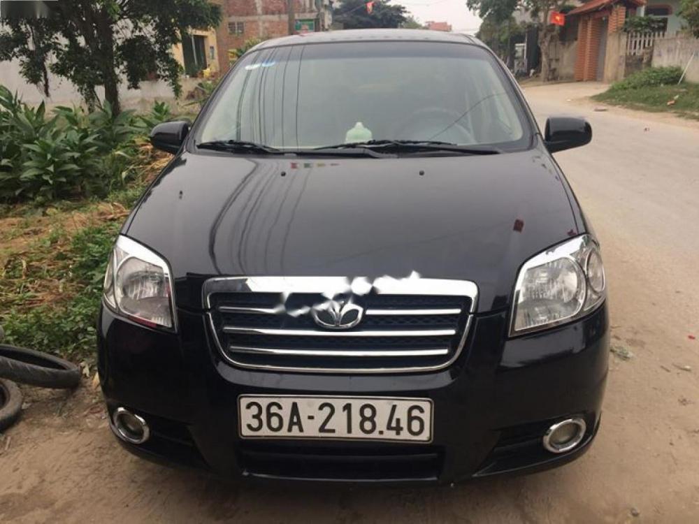 Cần bán lại xe Daewoo Gentra SX 1.5 MT đời 2008, màu đen