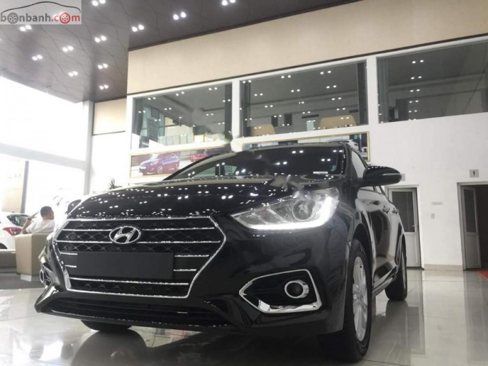 Bán Hyundai Accent 1.4 MT đời 2019, màu đen