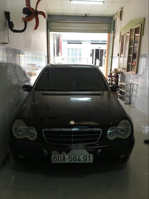 Bán Mercedes E220 2004, màu đen, chưa hề đâm đụng, máy móc êm ái