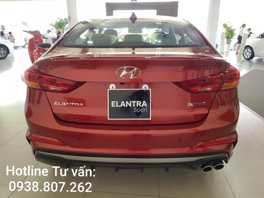 Hyundai Elantra 1.6 Turbo Sport 2019, sẵn xe giao ngay, ưu đãi đặc biệt dịp lễ 30.04