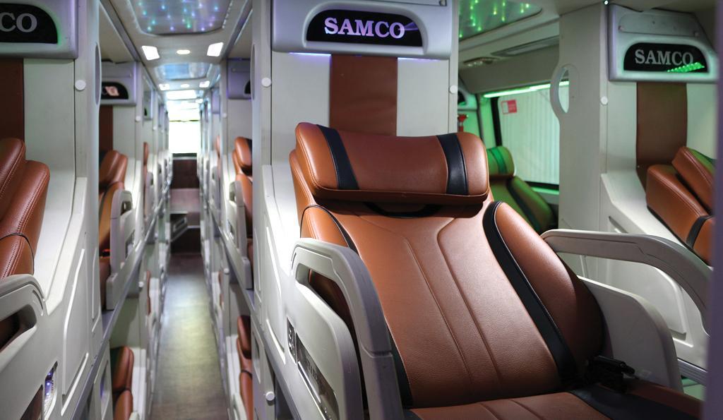 Chỉ 1,2 tỷ nhận xe Isuzu Samco Primas 33 giường Vip.