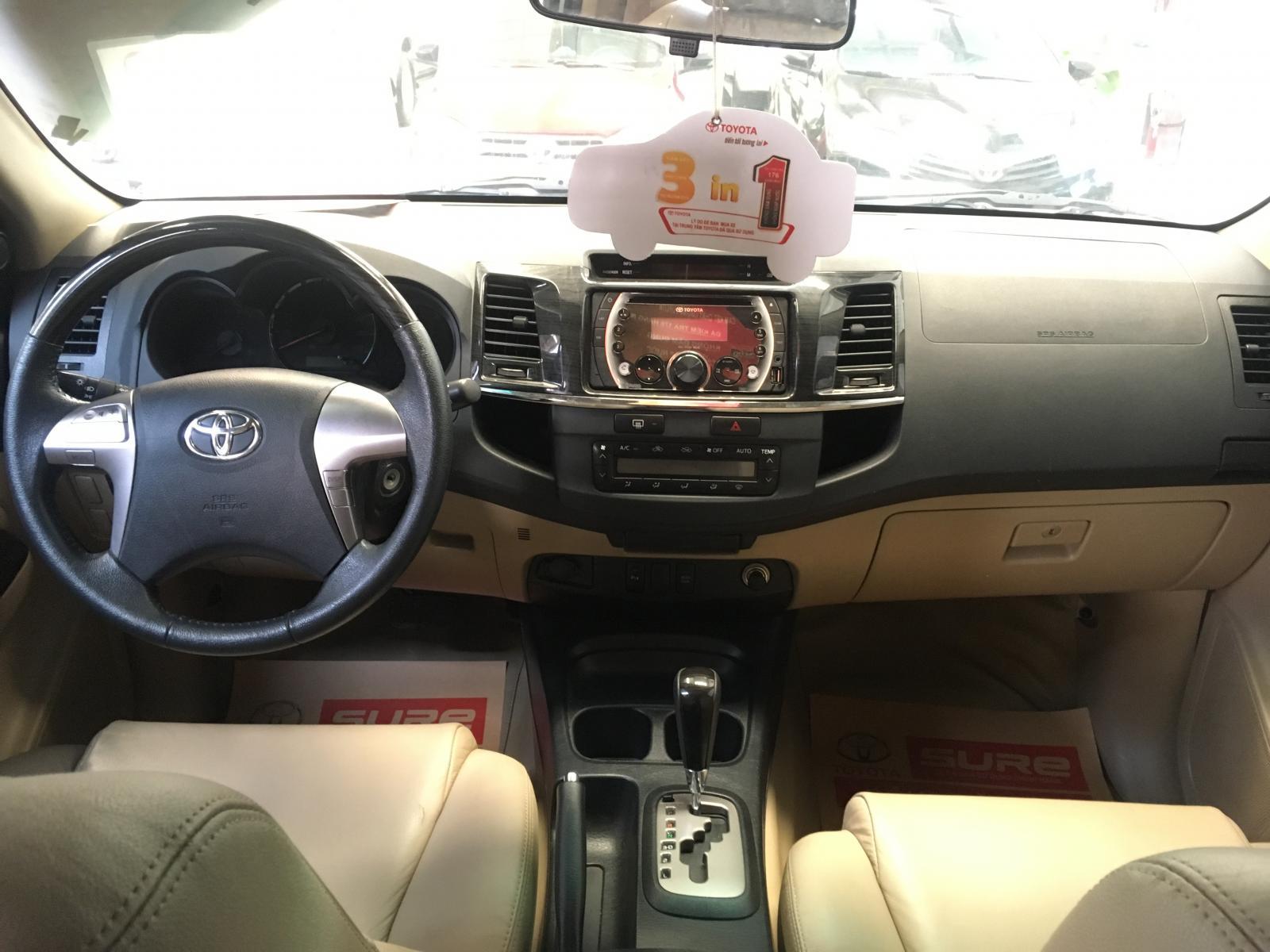Bán ô tô Toyota Fortuner V 4x2 TRD đời 2015, màu trắng, giá chỉ 790 triệu
