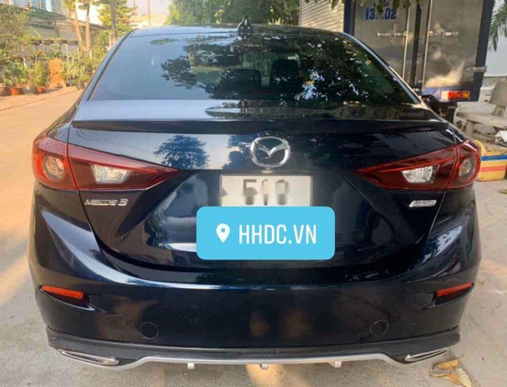 Bán Mazda 3 sản xuất 2018, màu xanh, số tự động, 625tr