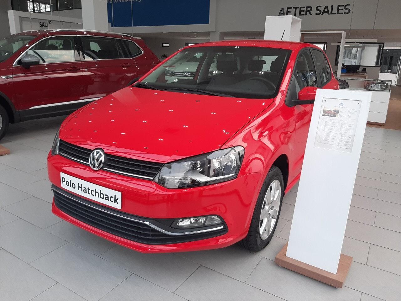 Volkswagen Polo, màu đỏ, nhập khẩu chính hãng tặng lệ phí trước bạ hỗ trợ trả góp 0%