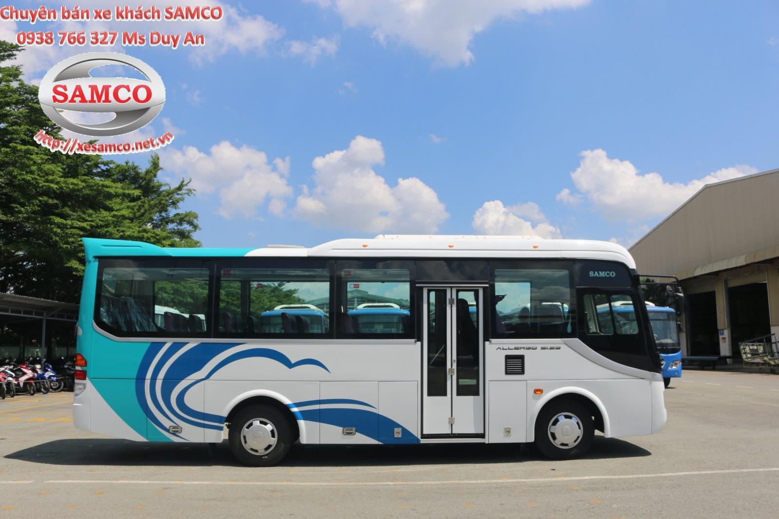 Bán xe khách Samco Allergo 29 chỗ ngồi, động cơ isuzu 3.0cc