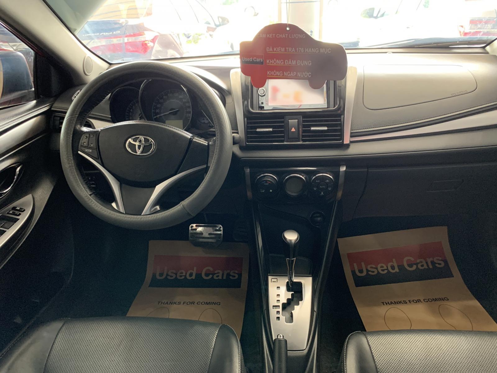 Cần bán Toyota Vios 1.5G đời 2014, màu đỏ