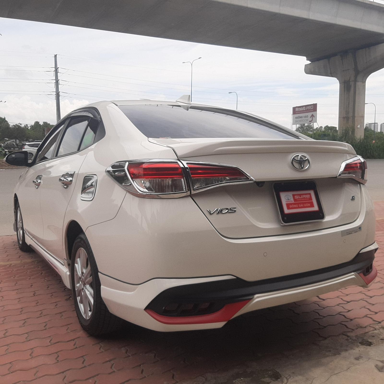 Bán Toyota Vios G đời 2018, màu trắng, 550tr