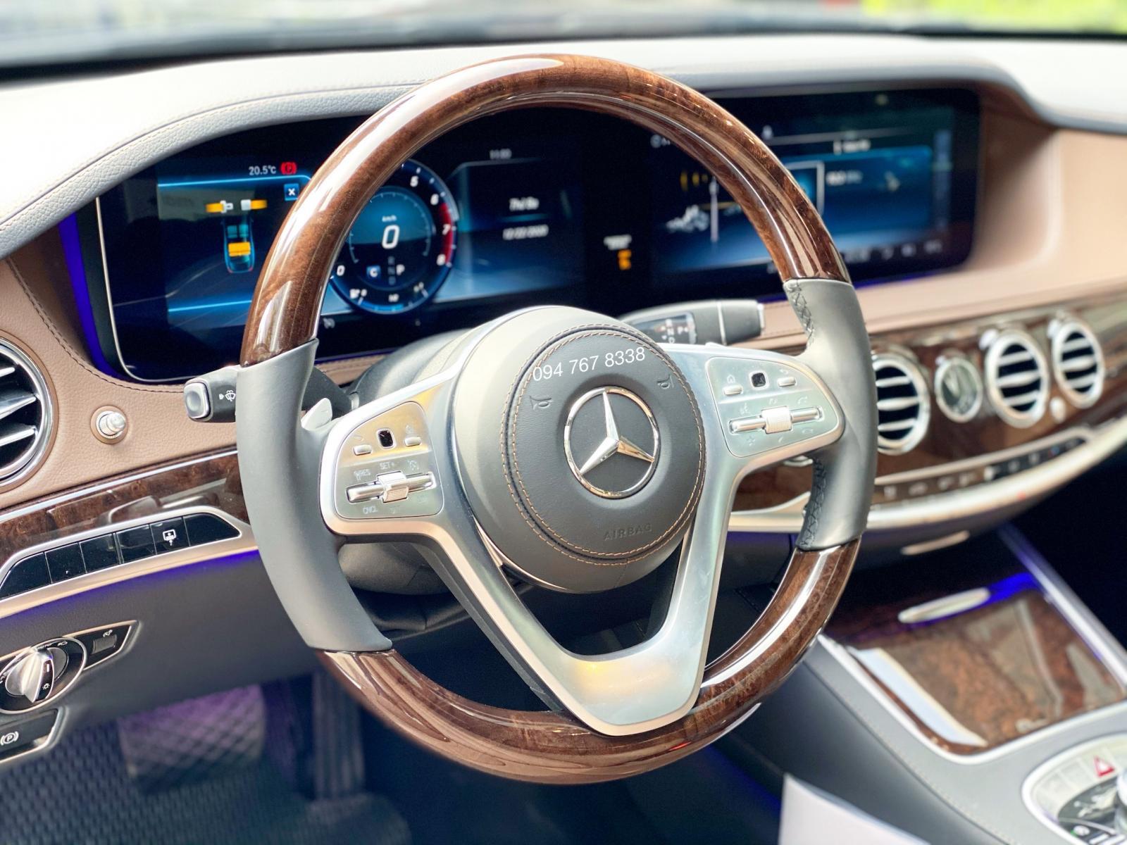 Bán Mercedes S450L 2020 độ Full Maybach Siêu lướt biển đẹp giá cực tốt
