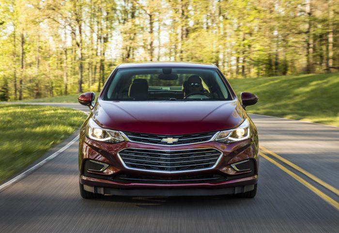 Xe Chevrolet Cruze 2018 sang trọng, thanh lịch