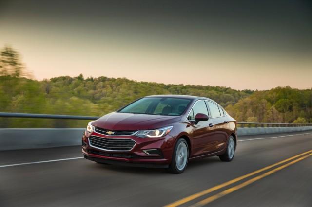Chevrolet Cruze 2018 có hình dáng hiện đại