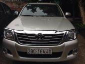 Cần bán gấp Toyota Hilux đời 2012, màu bạc, nhập khẩu Thái Lan, số sàn, 485tr giá 485 triệu tại Hà Nội
