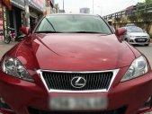 Cần bán Lexus IS 250 đời 2010, màu đỏ, nhập khẩu nguyên chiếc xe gia đình giá 1 tỷ 280 tr tại Hà Nội