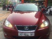 Cần bán Lexus IS250 đời 2008, màu đỏ, nhập khẩu nguyên chiếc chính chủ, giá 960tr giá 960 triệu tại Hà Nội