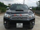 Cần bán xe Toyota Hilux 3.0MT năm 2015, màu đen, nhập khẩu, số sàn giá 740 triệu tại Hà Nội