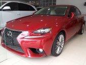 Bán Lexus IS250 đời 2014, màu đỏ giá 2 tỷ 340 tr tại Hà Nội