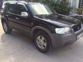 Bán xe cũ Ford Escape XLT đời 2004, màu đen số tự động, giá tốt giá 268 triệu tại Tp.HCM