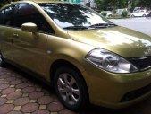 Bán Nissan Tiida đời 2006, màu vàng, nhập khẩu chính hãng xe gia đình, giá 389tr giá 389 triệu tại Hà Nội