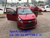 Cần bán Chevrolet Spark Van 2013 đời 2013, màu đỏ, giá tốt giá 230 triệu tại Hà Nội
