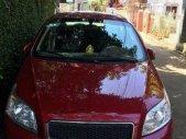 Cần bán lại xe Chevrolet Aveo MT 2015, màu đỏ chính chủ, giá 350tr giá 350 triệu tại Đắk Lắk