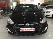 Cần bán Hyundai Acent 1.4 năm 2012, màu đen, xe nhập, xe gia đình giá 375 triệu tại Phú Thọ