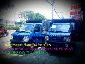 Xe tải nhẹ dongben 870kg thùng mui bạt bán trả góp giá 150 triệu tại Đồng Nai