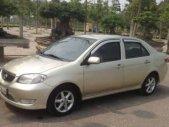 Bán Toyota Vios 1.5G 2007, màu vàng cát giá 232 triệu tại Vĩnh Phúc