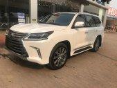Bán Lexus LX570 Trung Đông Trắng nội thất nâu xe sản xuất 2016 dk 2017  giá 7 tỷ 280 tr tại Hà Nội