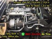 Xe Tải Hyundai Đô Thành IZ49 2 Tấn 4 Thùng 4,3 Mét Bán Trả Góp 70 Triệu giá 300 triệu tại Đồng Tháp