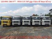 Xe tải thùng 4 chân DongFeng Hoàng Huy 17.9 Tấn/ giá rẻ nhất thị trường/ chỉ trả trước 300 triệu nhận xe ngay 17.9 tấn  giá 980 triệu tại Kiên Giang