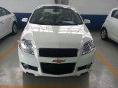 Bán Chevrolet Aveo LT sản xuất 2018, màu trắng, giá 459tr giá 459 triệu tại Lâm Đồng