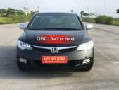 Cần bán xe Honda Civic 1.8MT đời 2008, màu đen giá 345 triệu tại Hà Nội