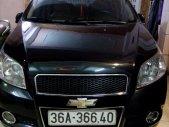 Cần bán gấp Chevrolet Aveo năm 2014, màu đen như mới giá 295 triệu tại Thanh Hóa