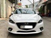Bán Mazda 3 2.0L, SX 2016, màu trắng, xe gia đình sử dụng giá 625 triệu tại Tp.HCM