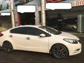Cần bán Kia K3 2.0AT 2016, xe 5 chỗ, bản full số tự động, lắp ráp trong nước, màu trắng, đăng ký biển SG giá 576 triệu tại Tp.HCM