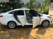 Bán Ford Fiesta Titanium 1.5 AT đời 2015, màu trắng chính chủ giá 450 triệu tại Yên Bái