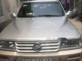 Bán xe Ssangyong Musso 3.2 AT sản xuất năm 2000, màu bạc, nhập khẩu nguyên chiếc số tự động, giá chỉ 120 triệu giá 120 triệu tại Tp.HCM