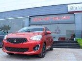 Mitsubishi Attrage MT sản xuất 2019, màu đỏ, nhập khẩu giá 375 triệu tại Quảng Trị
