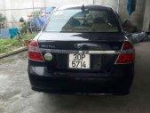 Cần bán xe Daewoo Gentra đời 2009, màu đen giá 195 triệu tại Thanh Hóa