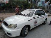 Bán Daewoo Lanos màu trắng, xe 5 chỗ, đời 2001 giá 68 triệu tại Hà Nội