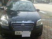 Cần bán Daewoo Gentra sản xuất 2010, màu đen, xe ngon mượt giá 170 triệu tại Thanh Hóa