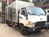 Xe tải Hyundai 6T8 thùng kín Mighty HD700, thùng 4m9, hỗ trợ vay 80% giá 140 triệu tại Tp.HCM