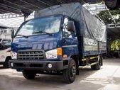 Xe tải Hyundai 6T9 thùng mui bạt Mighty HD700, thùng dài 5m, giao xe giá 673 triệu tại Tp.HCM