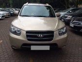 Gia đình cần bán xe Hyundai Santafe máy xăng 2008 số sàn màu ghi giá 395 triệu tại Tp.HCM
