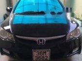 Bán Honda Civic sản xuất năm 2008, màu đen, xe nhập, ít chỗ xước, máy êm giá 315 triệu tại Thanh Hóa